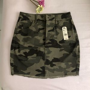 GARAGE Hi-Rise Mini Skirt